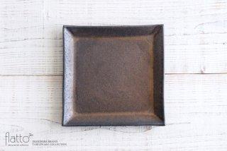 中川雅佳|金釉 22cm正角皿