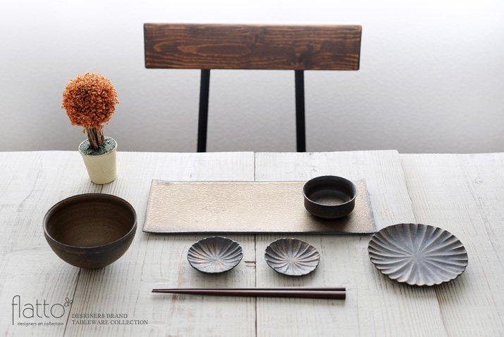 水野幸一|銅彩釉 角長皿(大)-03