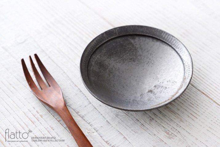 トキノハ|shiro-kuro 4寸鉢(黒)-02