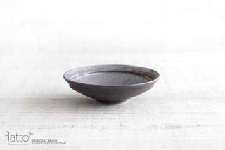 トキノハ|shiro-kuro 4寸鉢(黒)