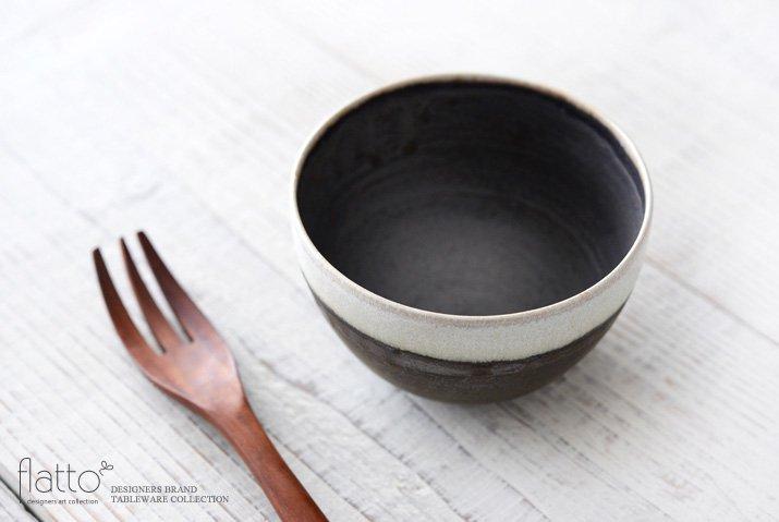 shiro-kuro 碗(4・縁白) 作家「トキノハ」-02