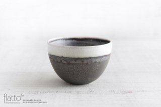 shiro-kuro 碗(4・縁白) 作家「トキノハ」