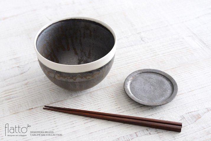 shiro-kuro 碗(6・縁白) 作家「トキノハ」-04
