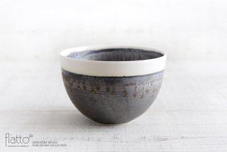 トキノハ|shiro-kuro 碗(6・縁白)