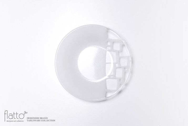 サブロウ 丸鉢(中b・白)