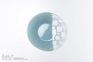 丸鉢(中b・水色) ガラス作家「サブロウ」