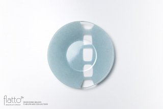 丸鉢(中c・水色) ガラス作家「サブロウ」