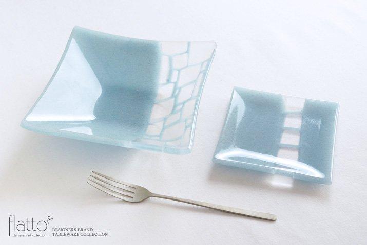 サブロウ|角皿(小c・水色)-04