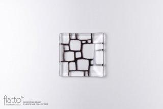 豆皿(a・すみ) ガラス作家「サブロウ」