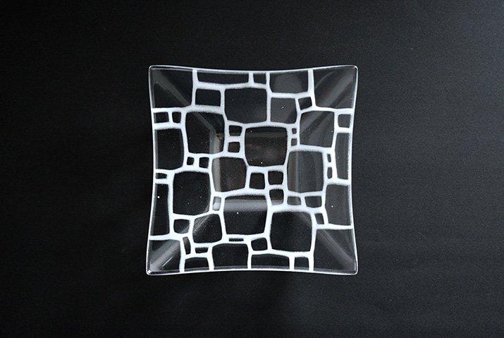サブロウ|角深鉢(中a・白)