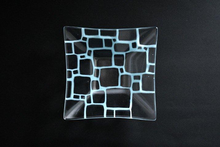 サブロウ|角深鉢(中a・水色)