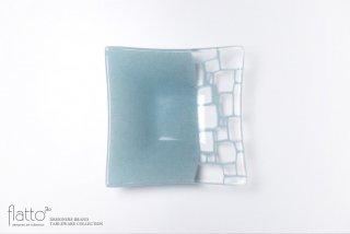 サブロウ|角深鉢(中b・水色)
