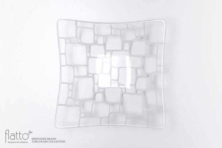 サブロウ|角深鉢(大a・白)
