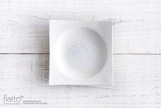 水野幸一|粉引 角皿(中)