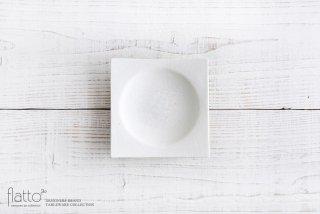 粉引 角皿(小) 作家「水野幸一」