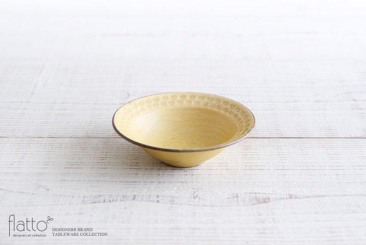印花小鉢(黄)|武曽健一|小鉢