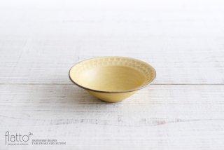 武曽健一|印花小鉢(黄)