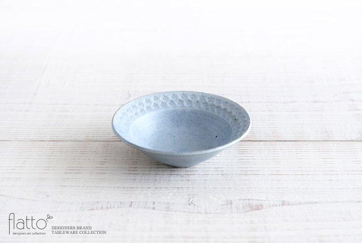 印花小鉢(灰)|武曽健一|小鉢