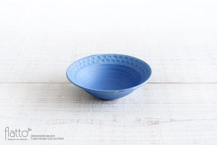 印花小鉢(青)|武曽健一|小鉢
