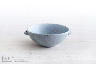 スープ鉢(灰) 作家「武曽健一」
