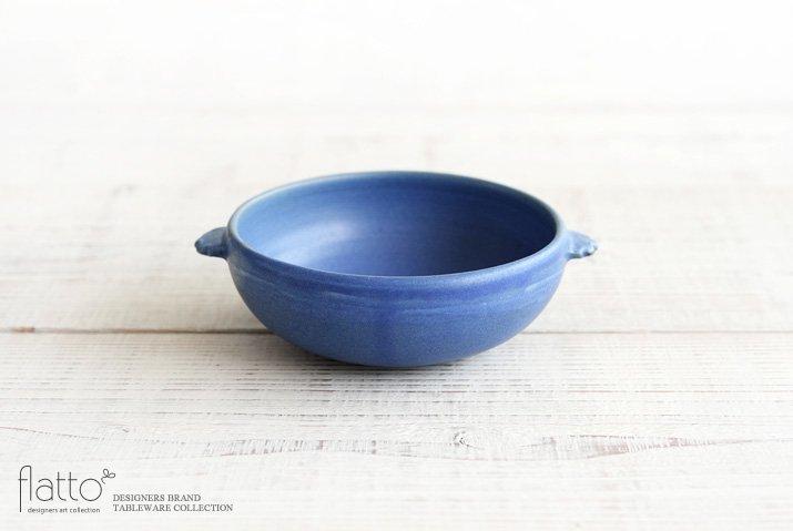 武曽健一|スープ鉢(青)