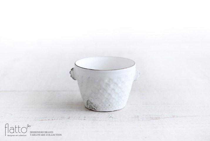 武曽健一|印花ちょこフリーカップ(耳付・白)