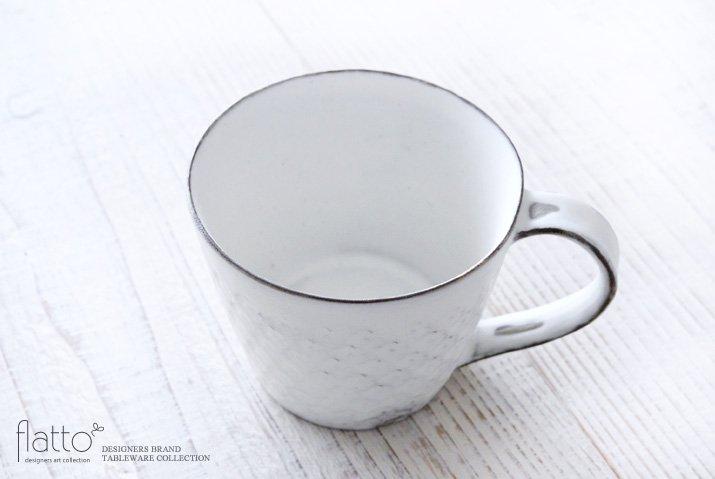 印花マグカップ(縦長・白) 作家「武曽健一」-02