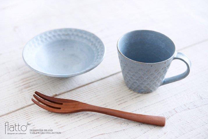 武曽健一|印花マグカップ(縦長・灰)-04
