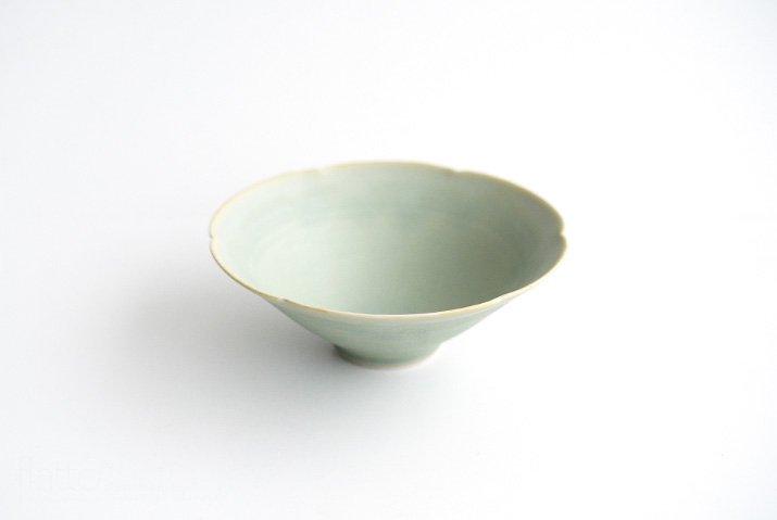 杉原万理江|輪花小鉢A(黄緑)