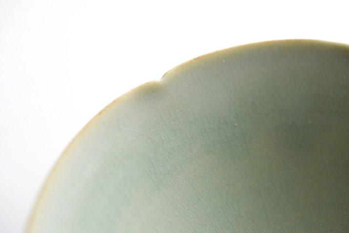 杉原万理江|輪花小鉢A(黄緑)-02