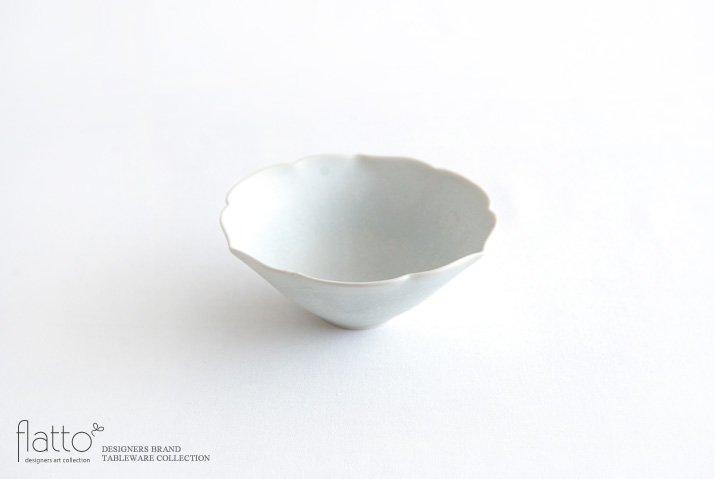 杉原万理江|輪花小鉢B(白)