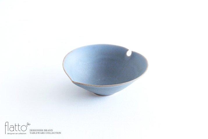 杉原万理江|輪花小鉢C(青紫)