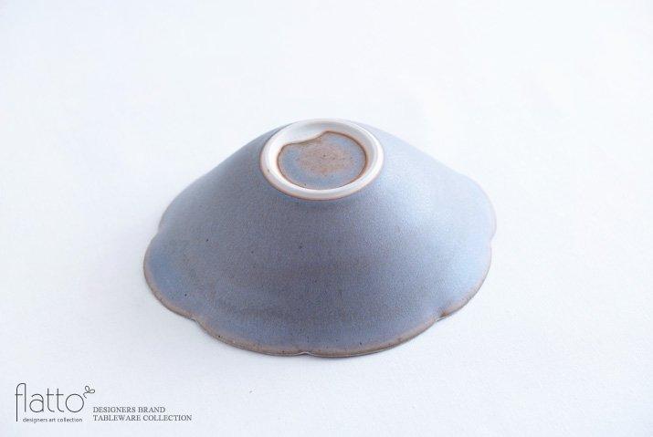 杉原万理江|楕円輪花鉢A(青紫)-04