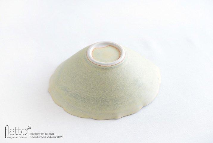 楕円輪花鉢B(黄緑) 作家「杉原万理江」-04