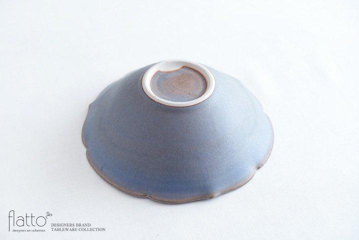 杉原万理江|輪花鉢B(青紫)-04