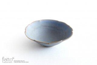 杉原万理江|輪花鉢B(青紫)