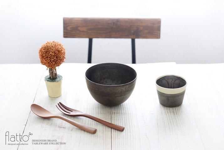 トキノハ|shiro-kuro 蕎麦猪口カップ(縁白)-03