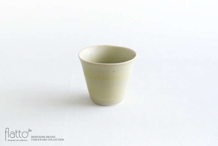 杉原万理江|カップ(黄緑)
