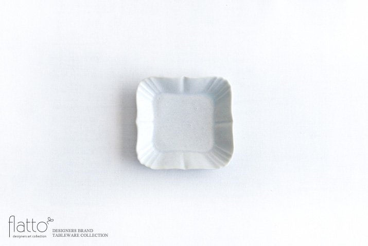 杉原万理江|KATACHI豆皿 シカク(白)