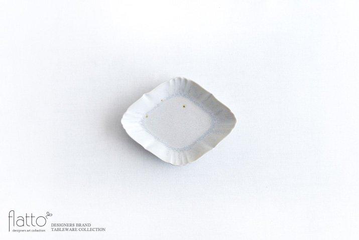 杉原万理江|KATACHI豆皿 ヒシガタ(白)