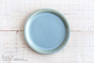 トキノハ|calm タタラプレートM(ライトブルー)|大皿