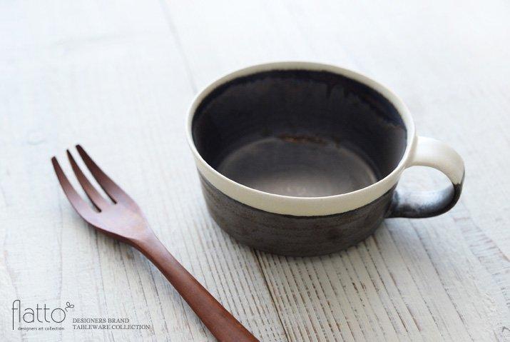 トキノハ|shiro-kuro スープカップ(縁白)-02