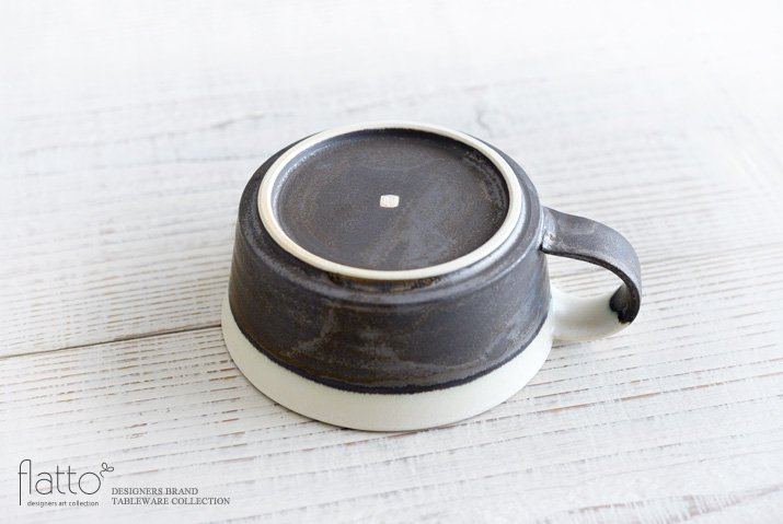 トキノハ|shiro-kuro スープカップ(縁白)-04