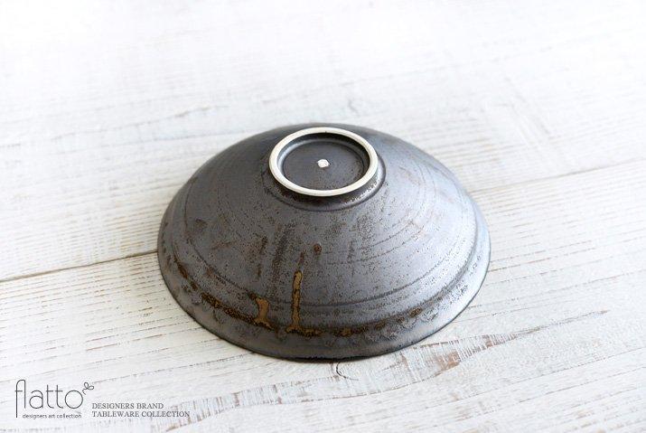 トキノハ|shiro-kuro 6寸鉢(縁白)-04