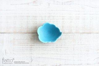 【WEB展示会限定】ターコイズ ウンリュウ豆皿 作家「東一仁」