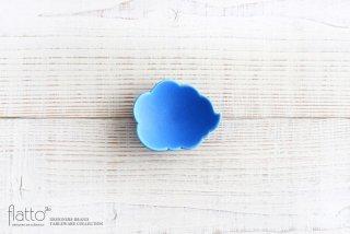 【WEB展示会限定】ブルー ウンリュウ豆皿 作家「東一仁」
