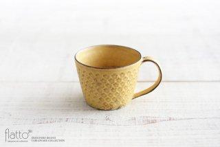 武曽健一|印花マグカップ(黄)