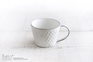 印花マグカップ(白) 作家「武曽健一」