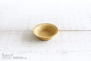 印花豆鉢(黄) 和食器作家「武曽健一」