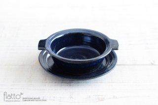 古谷浩一|瑠璃釉耐熱 耳付グラタン皿